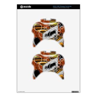 Piel del regulador de Xbox 360 con arte de la Mando Xbox 360 Skins