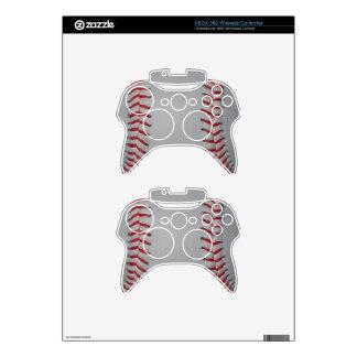Piel del regulador de Xbox 360 del béisbol Mando Xbox 360 Calcomanía