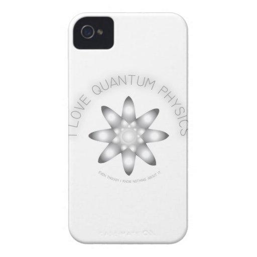 Piel del teléfono de la física I de Quntum iPhone 4 Protector