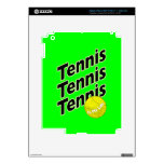 Piel del tenis para el iPad o la tableta iPad 3 Pegatina Skin