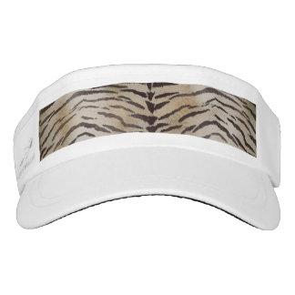 Piel del tigre en marfil visera