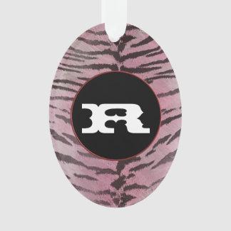 Piel del tigre en rosa
