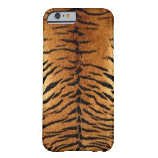 Piel del tigre funda para iPhone 6 barely there