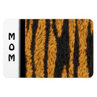 Piel del tigre iman de vinilo
