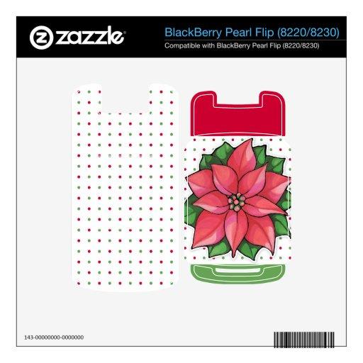 Piel del tirón de la perla de los puntos de la ale BlackBerry skins