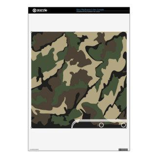 Piel delgada de la consola de Camo Sony Calcomanías Para PS3 Slim