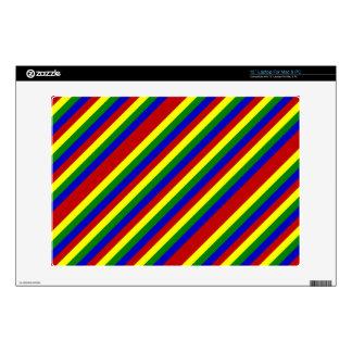 Piel diagonal del ordenador portátil de los portátil skin