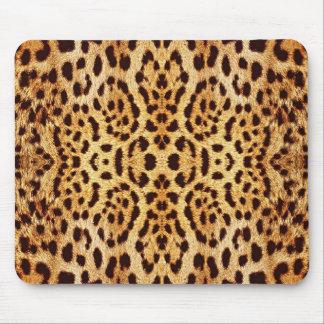 piel elegante del leopardo alfombrilla de ratón