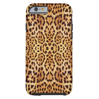 piel elegante del leopardo funda de iPhone 6 tough