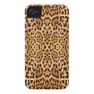 piel elegante del leopardo iPhone 4 Case-Mate coberturas