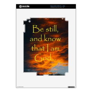 Piel espiritual del estímulo para el iPad Calcomanía Para iPad 2