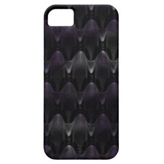 Piel extranjera cristalina púrpura funda para iPhone SE/5/5s