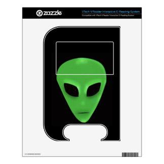 Piel extranjera verde fantasmagórica del diseño de VTech V.Reader skin