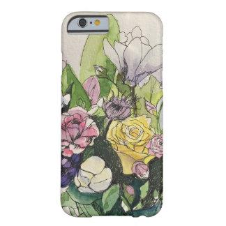 Piel florecida funda barely there iPhone 6