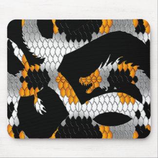 Piel G del dragón Tapetes De Ratones