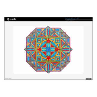 Piel geométrica del ordenador portátil de la portátil skins