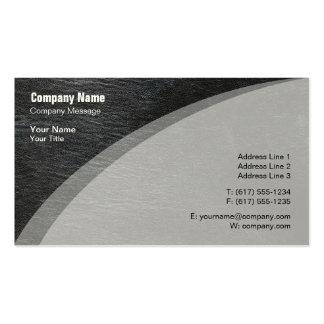 Piel gris elegante tarjetas de visita