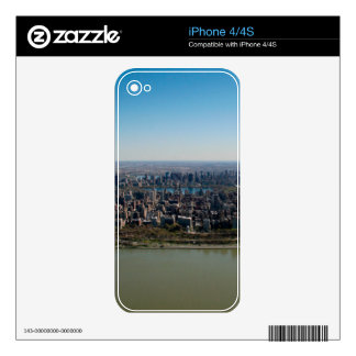 Piel: Horizonte de New York City iPhone 4 Skin