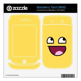 Piel impresionante de la antorcha de Blackberry de BlackBerry Torch Skins