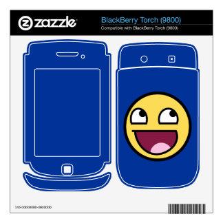 Piel impresionante de la antorcha de Blackberry de Skins Para BlackBerry