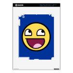 Piel impresionante del iPad de la cara Pegatina Skin Para iPad 3