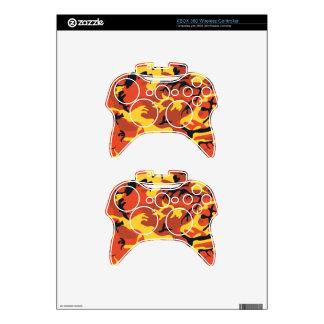 Piel inalámbrica del control de XBOX del camuflaje Mando Xbox 360 Skin