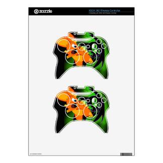 Piel inalámbrica del regulador de BKB XBOX 360 Mando Xbox 360 Calcomanía