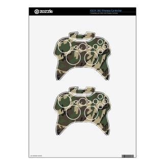 Piel inalámbrica del regulador de Camo XBOX 360 Mando Xbox 360 Skin