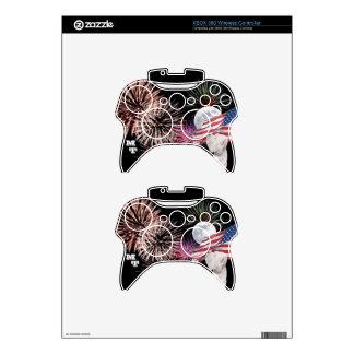 Piel inalámbrica del regulador de Westie XBOX 360 Mando Xbox 360 Skins