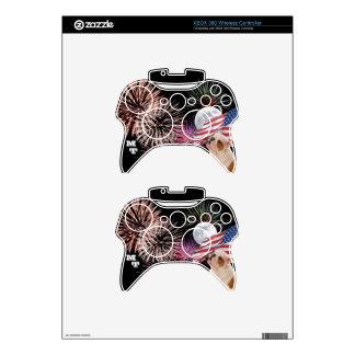 Piel inalámbrica del regulador de XBOX 360 del dog Mando Xbox 360 Skin