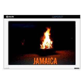Piel jamaicana del ordenador portátil del fuego de skins para 43,2cm portátil