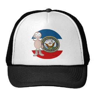 Piel ligera de la marina de guerra gorras