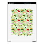 Piel linda del modelo del sushi calcomanías para el iPad 2