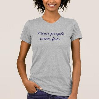 Piel mala del desgaste de la gente camisas