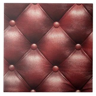 piel marrón del cuero del modelo teja  ceramica