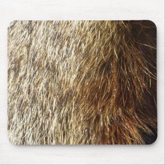 Piel Mousepad de la marmota Alfombrilla De Ratón
