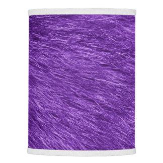 Piel mullida, textura de la piel, Pelage - púrpura Pantalla De Lámpara