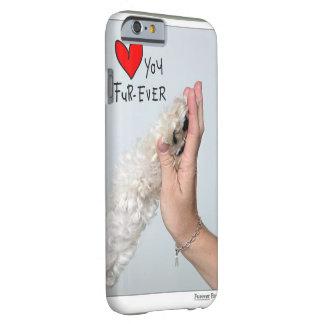 piel-nunca del luv u funda de iPhone 6 barely there