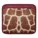 Piel original de la jirafa funda para iPads