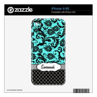 Piel personalizada damasco del aire de MacBook de Calcomanías Para iPhone 4S