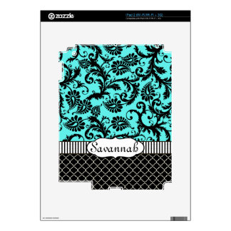 Piel personalizada modelo negro del iPad del iPad 2 Calcomanía