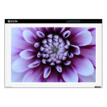 Piel púrpura de la flor skins para 43,2cm portátil