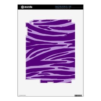Piel púrpura del iPad 2 del estampado de animales iPad 2 Skin