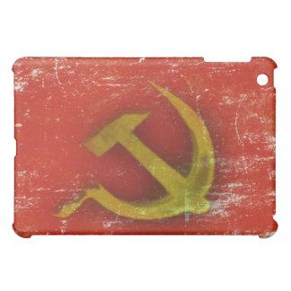 Piel retra del iPad con la bandera vieja sucia de