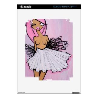 Piel rosada del iPad 3 de viernes Pegatina Skin Para iPad 3