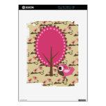 Piel rosada del iPad de los pájaros Calcomanía Para iPad 2