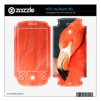 Piel rosada del myTouch 3G de HTC del flamenco HTC myTouch 3G Skin