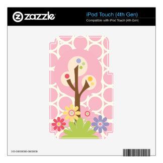 Piel rosada del tacto de iPod de la primavera iPod Touch 4G Skin