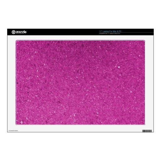 Piel rosada skins para portátil