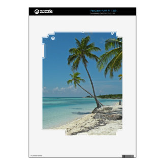 Piel tropical del iPad de la playa iPad 2 Calcomanía